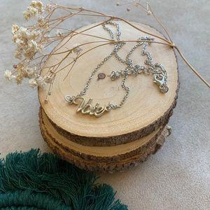Jewelry - Vote necklace 💕 silver